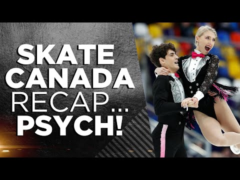 Skate Canada Recap! PSYCH. Let's Talk Canadian Skaters, Medals & Programs | THAT FIGURE SKATING SHOW