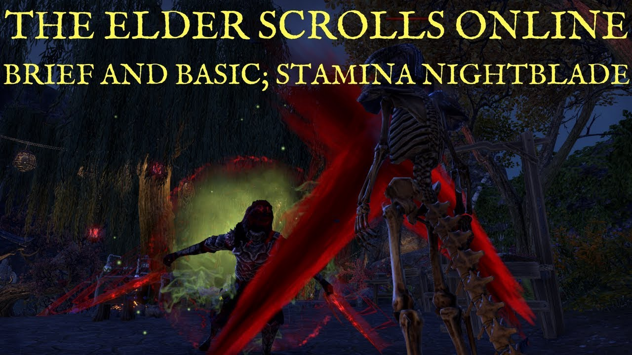 ESO Stamina Nightblade DPS Build - Deltia's Gaming
