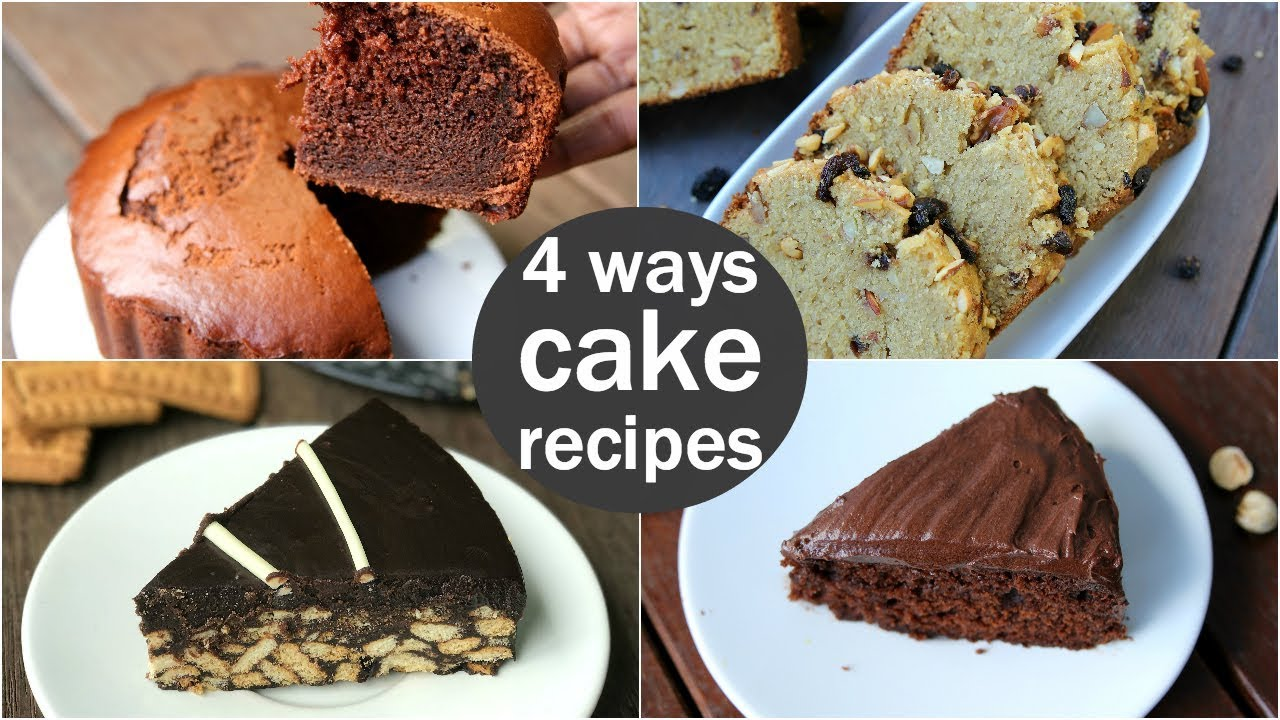 how to make eggless fruit cake without oven