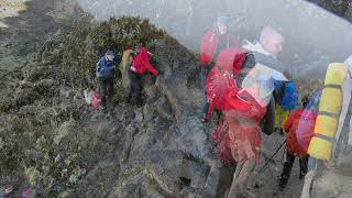 Climbing to the Mount Kilimanjaro in November 2018 Machame route