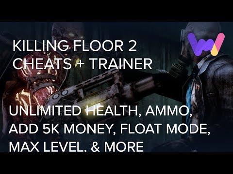 Killing Floor 2 Trainer 20 Cheats Unlimited Health Ammo One Hit Kills Freeze Enemies More Youtube