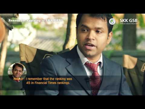 SKK GSB Professional MBA Foreign Student Video (English Subtitle)