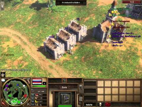 Let's Play Age of Empires III - Ruyter-Rush