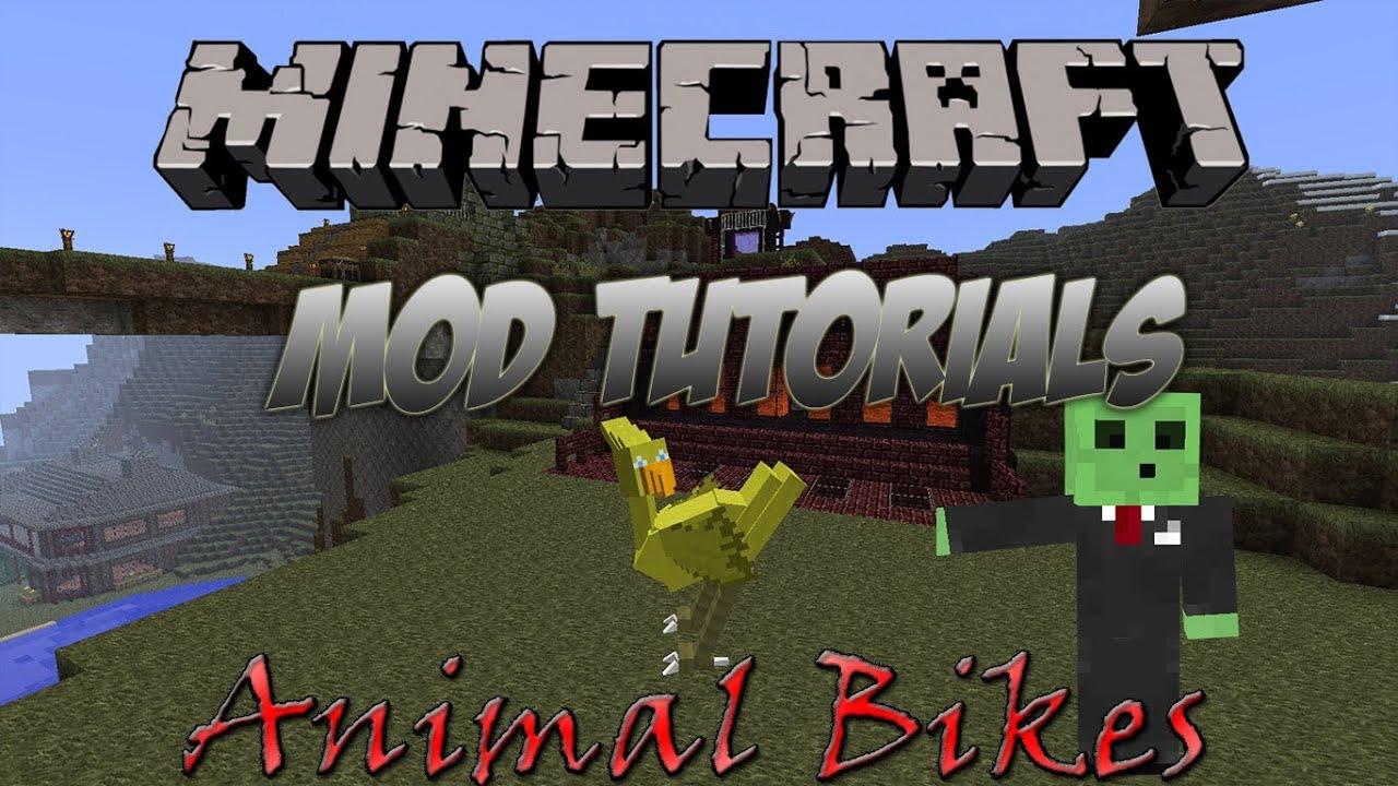 minecraft animal bikes 1.6.2