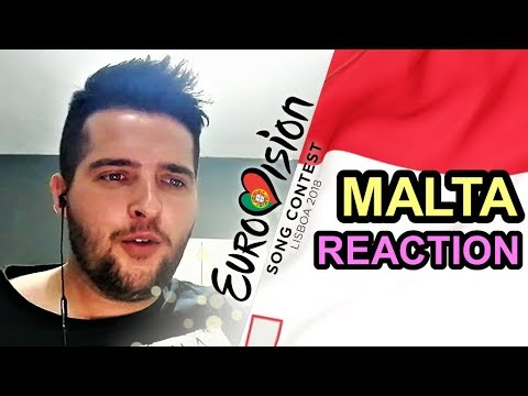 Eurovision 2018 Malta - REACTION & REVIEW [Christabelle - Taboo]