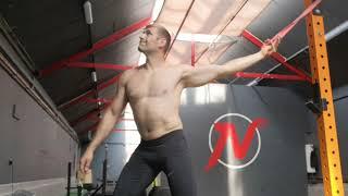 Praca z powięzią klatki piersiowej barku i ramienia - mobilność przed treningiem