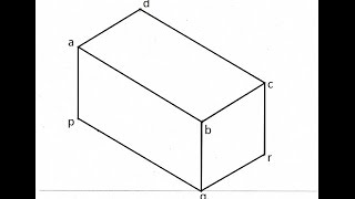 4.6-Drawing Isometric View of a Rectangular Prism