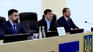 Зеленский на русском представил нового губернатора Донецкой области