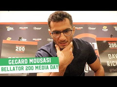 Bellator 200 Media Day: Gegard Mousasi unfazed by Rory MacDonald middleweight suggestions