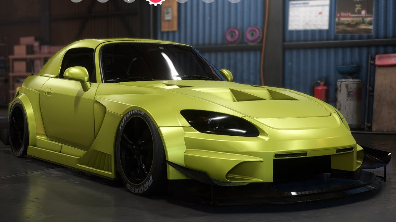 Need For Speed: Payback - Honda S2000 - Customize | Tuning Car (PC HD) [1080p60FPS] - YouTube