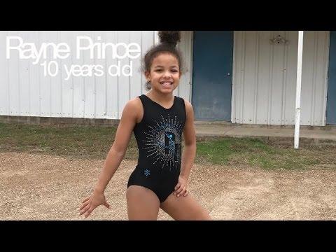 Rayne Prince - Amazing 10 year old gymnast (Level 9)