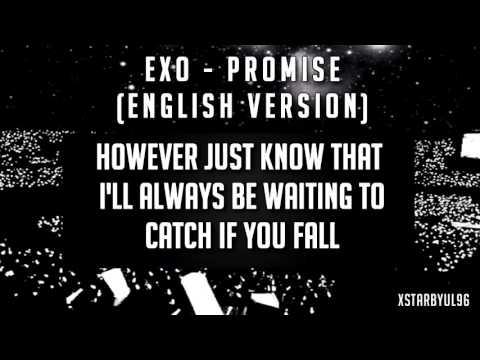 Exo -promise   ( English  version ) with lyrics