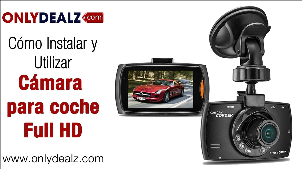 d0c21e75357 Cámara para coche Full HD - YouTube