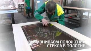 видео Замена стекла в межкомнатной двери: как вставить стекло