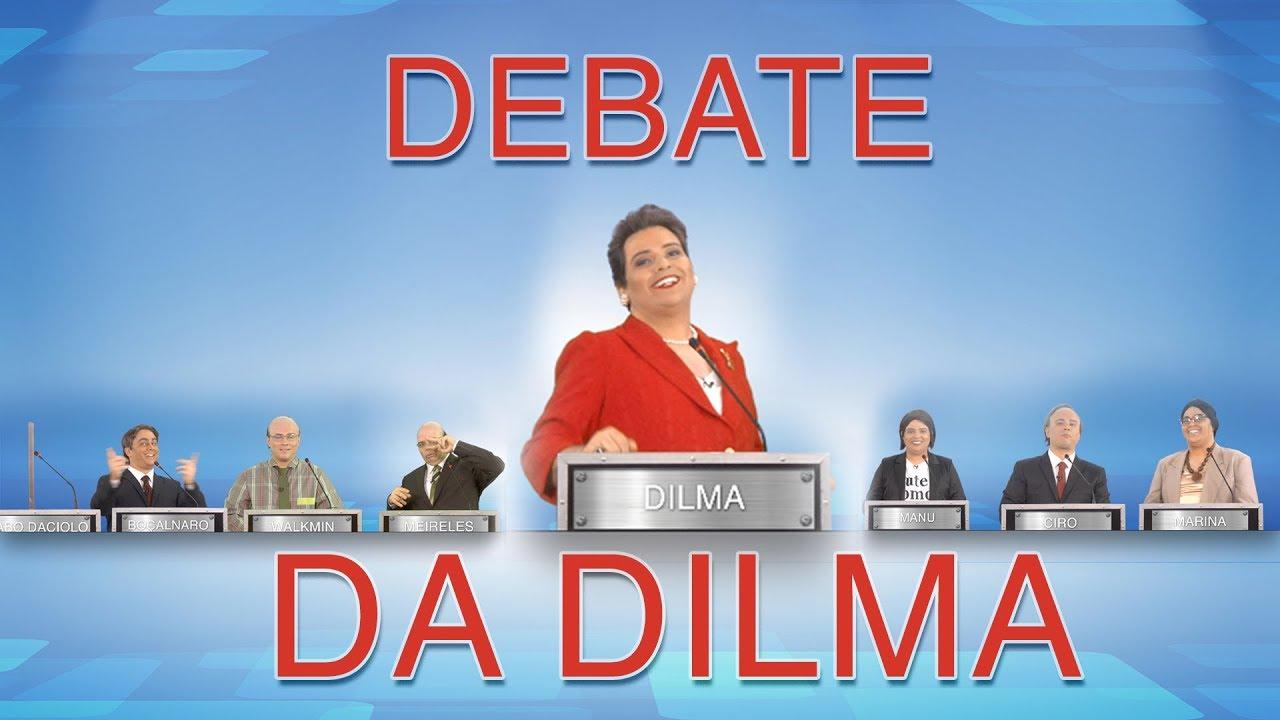 DEBATE DA DILMA - Eleições 2018