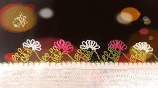 Çıtı Pıtı Zarif bir model   iğne oya modelleri   needle and thread