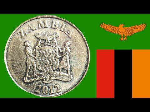 Zambia 2012 redenominated coin set