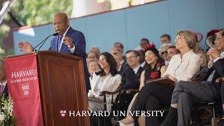 congressman john lewis address harvard commencement 2018