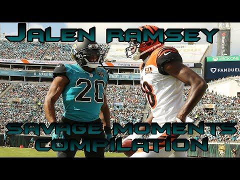 Jalen Ramsey Savage Moments II Compilation II Career Highlights 2016-2018