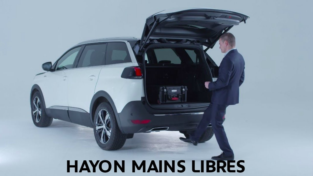 hayon mains libres nouveau suv peugeot 5008 youtube. Black Bedroom Furniture Sets. Home Design Ideas