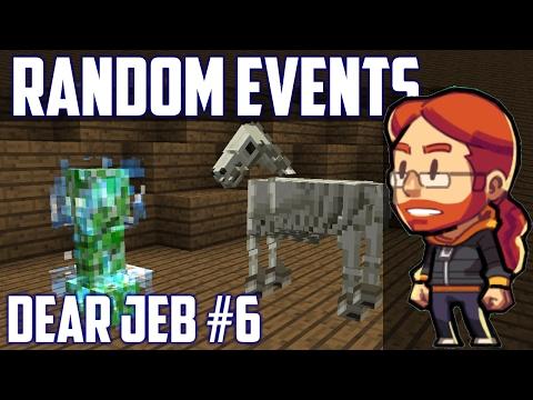 How Random Events Change The Game Dear Jeb Minecraft Самые - Minecraft tsunami spiele