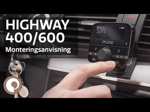 Pure Highway 400/600 - Monteringsanvisning (Norsk)