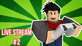 Roblox Gameplay with Gameman625 | Live Stream | #2