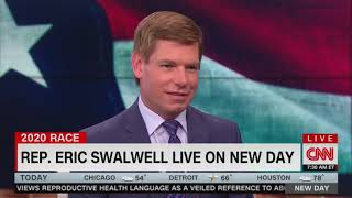 Presidential Candidate Eric Swalwell Declares Love of Country Music on CNN