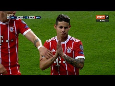 Download JAMES RODRIGUEZ VS REAL MADRID  (AWAY) 01/05/18 HD