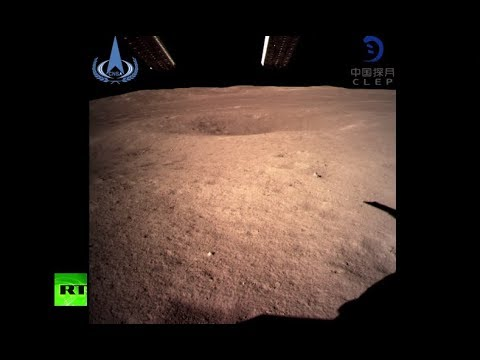China releases FIRST image of far side of moon (STILL)