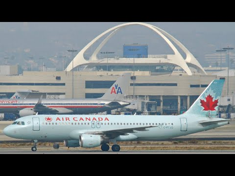 AIR CANADA ECONOMY CLASS || VANCOUVER → LOS ANGELES || AC 572 || A320