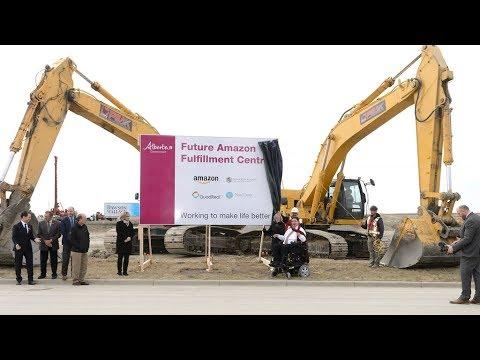 Amazon delivers hundreds of jobs to Calgary region - Oct. 26, 2017