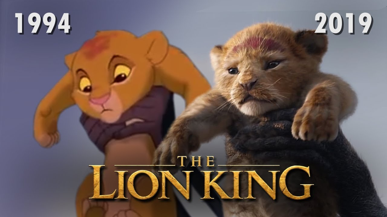 Image result for lion king 2019 and 1994