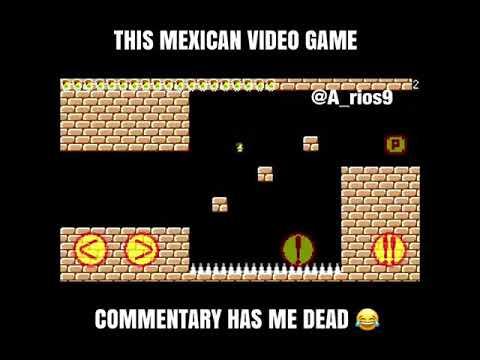 El juego parecido a Mario pero la persona no soporta el ...