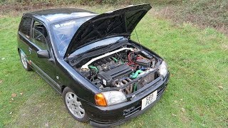 SLEEPER 4AGE SWAP STARLET!!   170 BHP Corolla Engined Toyota Starlet SR Review
