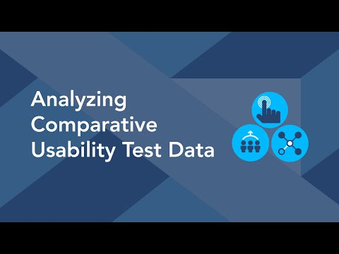 Analyzing Comparative Usability Test Data