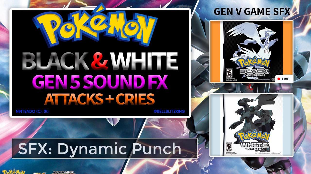 Pokemon Attacks SFX Pack: Diamond & Pearl, Black & White