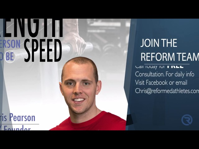 Reform Strength & Conditioning --- What I Offer