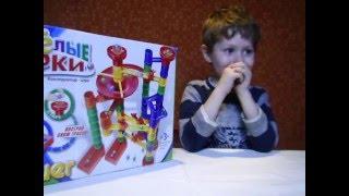 Мистер Буся Собираем играем лабиринт конструктор Bauer с шариками