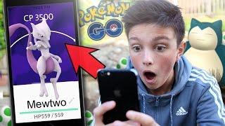 MEWTWO FOUND!!! - POKEMON GO! - SO MANY CP 1,000+ Pokemon!
