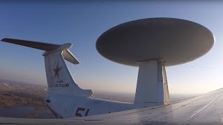 «Летающий радар» А-50 отработал наведение истребителей на воздушную цель