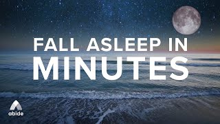 Fall Asleep in Minutes 🌊 Calm Ocean Sleep Music + Psalms Guided Meditation 😴 Sleep Talk Down