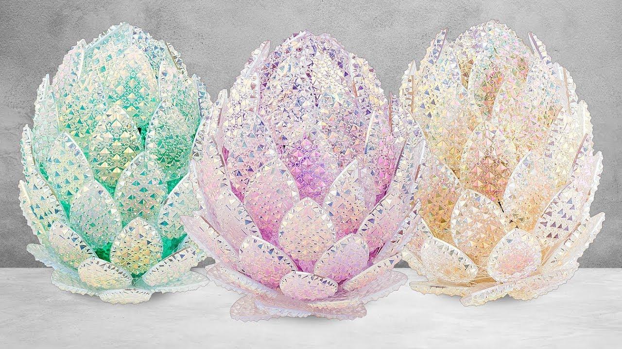 Ideen mit Herz - Kristallkunst-Eier basteln - Drachenei