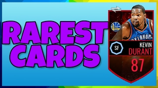 RAREST CARDS ON NBA LIVE MOBILE #4!