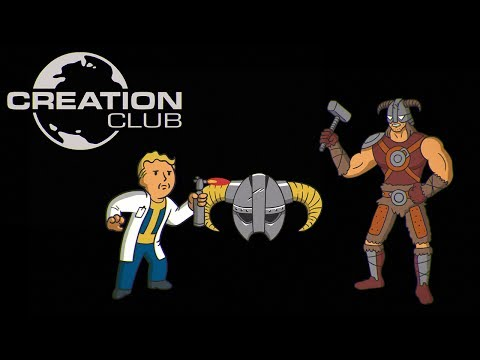 Creation Club For Fallout 4 & Skyrim Special Edition – E3 Announce Trailer