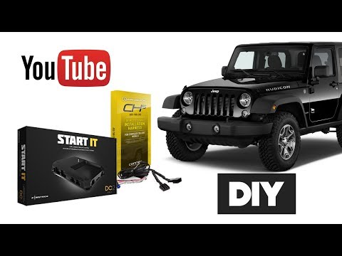 How To Install Remote Start Jeep Wrangler OEM Key 2007 – 2017 | DIY