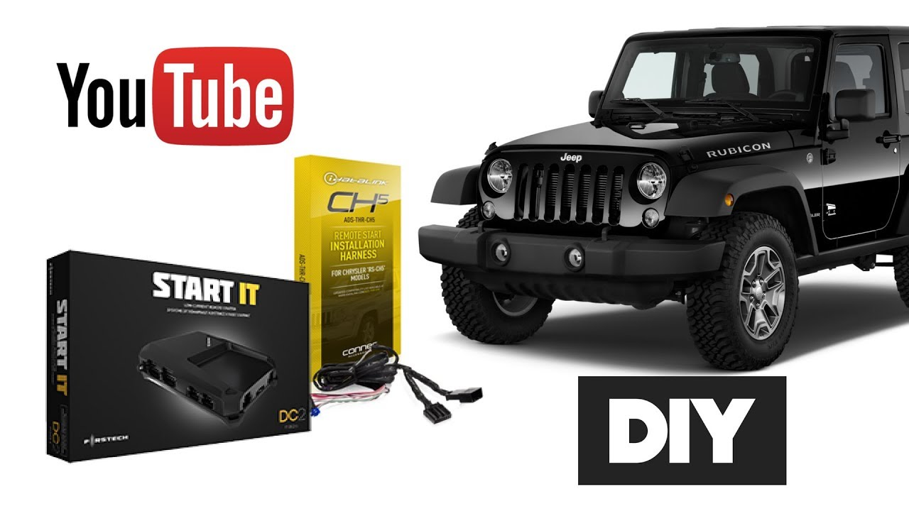 How To Install Remote Start Jeep Wrangler Oem Key