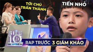 Rapper Tiến Nhỏ tái hiện bài hát 'Tuổi Thơ Tôi' của Jack CỰC CHẤT xứng đáng thần đồng nhạc Rap Việt