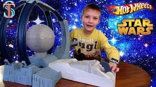 Хот Вилс (Hot Wheels) Машинки Звездные войны - Трек Разгром Звезды серия Star Wars   Супер Тима