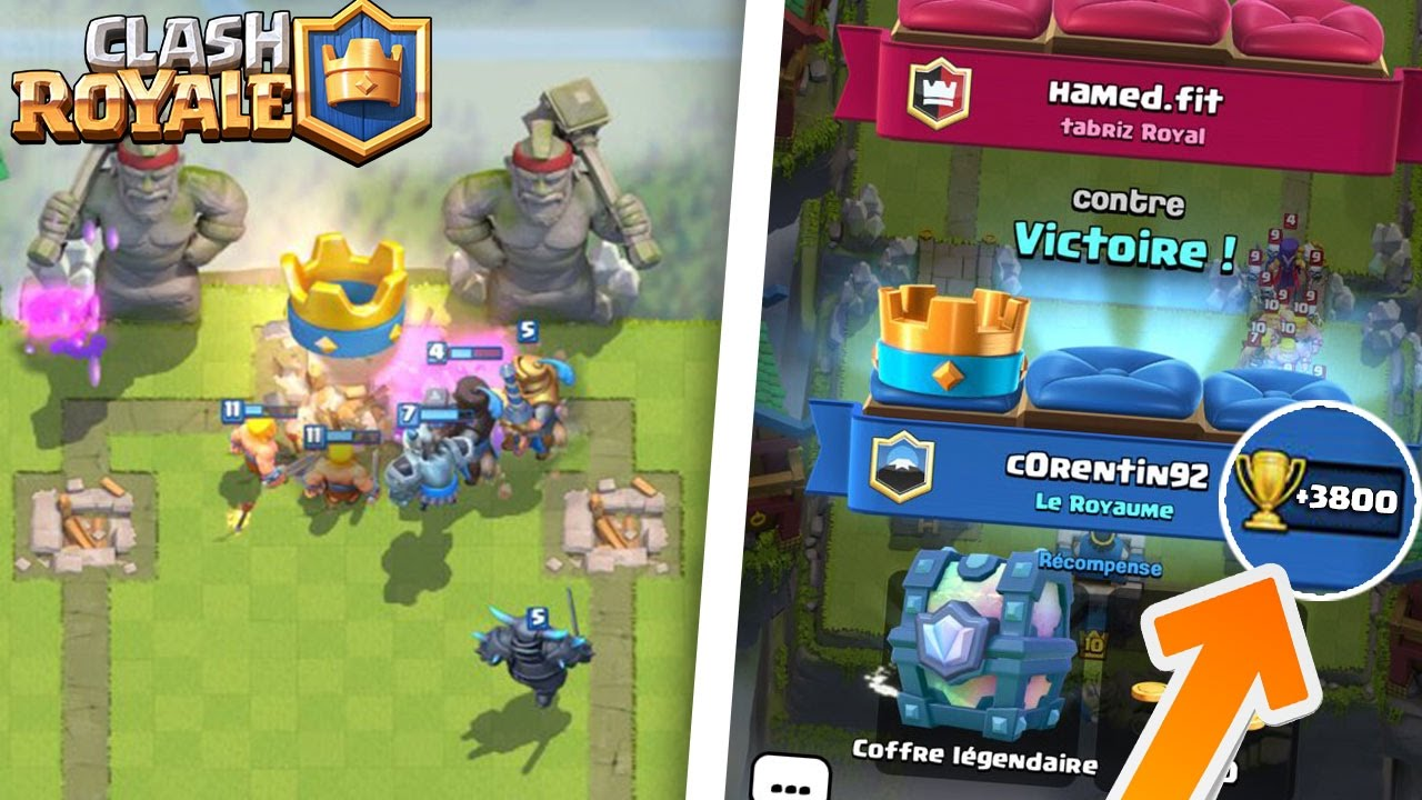 Meilleur deck arene 7 8 9 pour monter legende sans for Clash royale meilleur deck arene 7